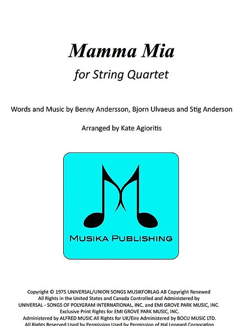 Mamma Mia (ABBA) - String Quartet