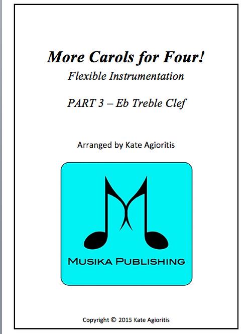 More Carols for Four Part 3 - Eb Treble Clef