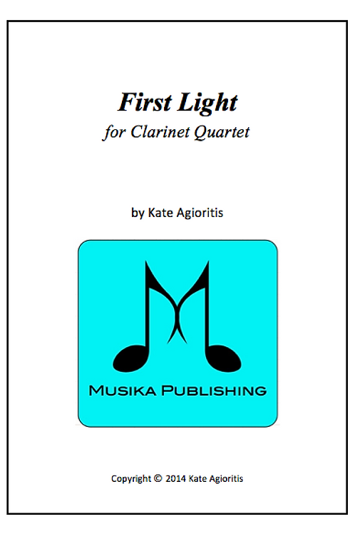 First Light - Clarinet Quartet