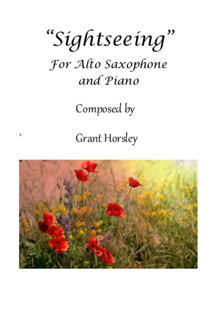 Sightseeing - for Alto Saxophone and Piano