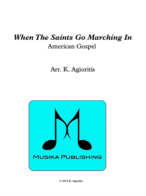 When the Saints Go Marching In - Clarinet Quartet