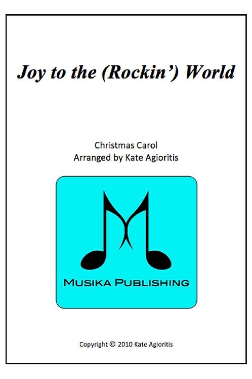 Joy to the (Rockin') World - Clarinet Quartet