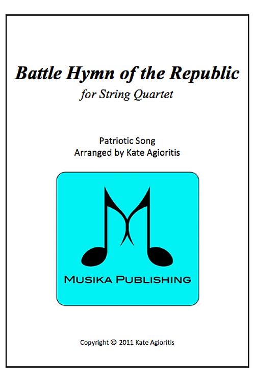 Battle Hymn of the Republic (Jazz) - String Quartet