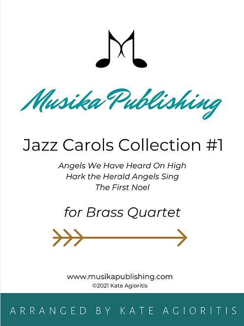 Jazz Carols Collection Set 1 - Brass Quartet