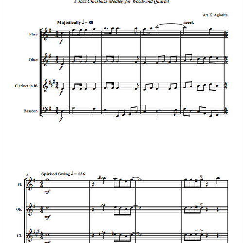 Canon In D Pachelbel Jazz Version For Piano Solo Sheet: Musika Publishing