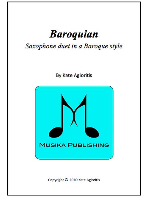 Baroquian - Saxophone Duet