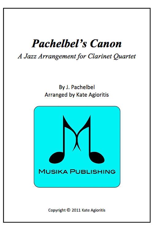 Pachelbel's Canon (Jazz) - Clarinet Quartet
