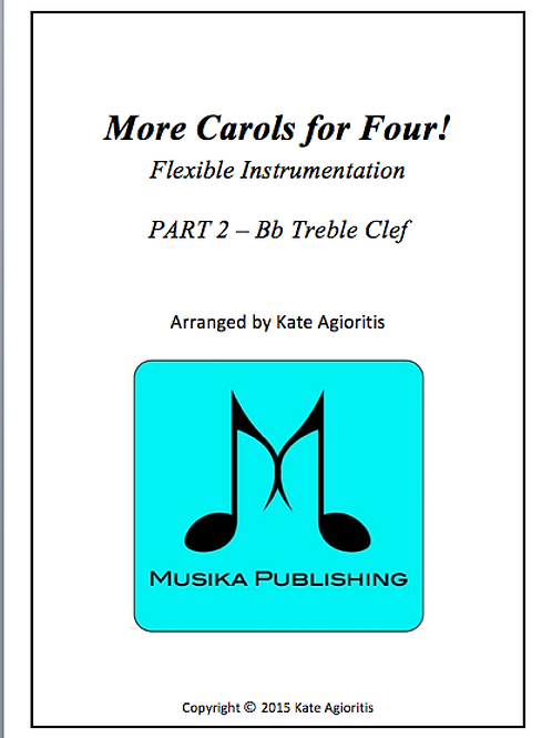 More Carols for Four Part 2 - Bb Treble Clef