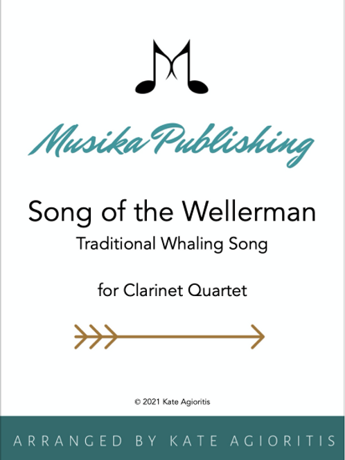 Song of the Wellerman - Clarinet Quartet