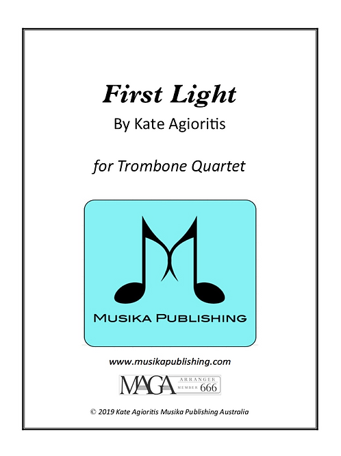 First Light - Trombone Quartet