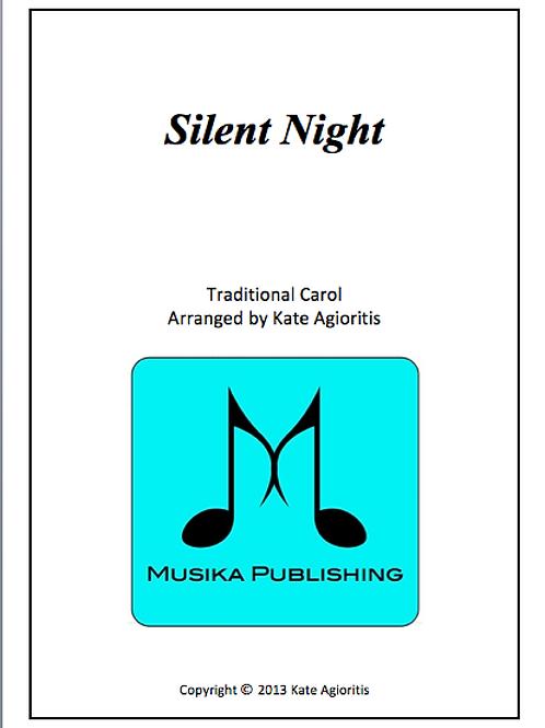 Silent Night - Saxophone Quartet