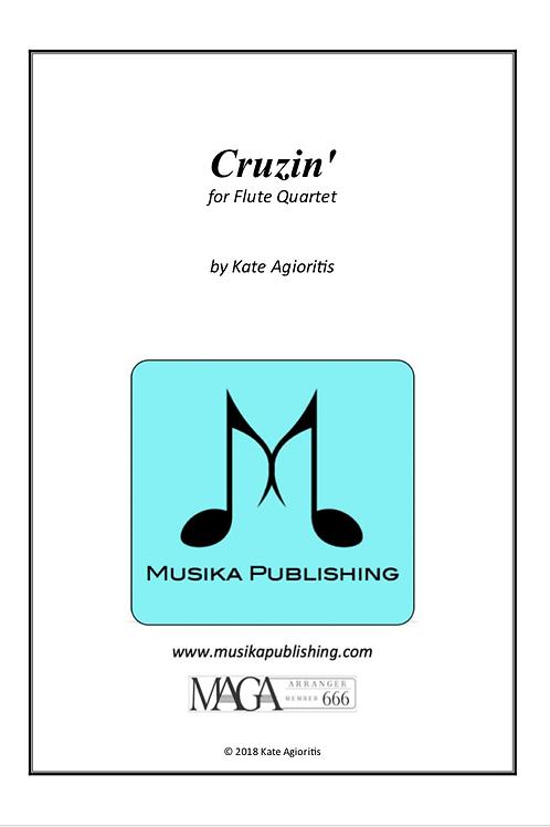 Cruzin' - for Flute Quartet