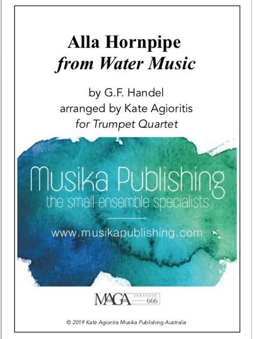 Alla Hornpipe - Trumpet Quartet