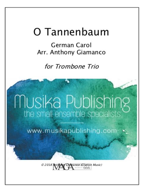 O Tannenbaum (O Christmas Tree) - Trombone Trio
