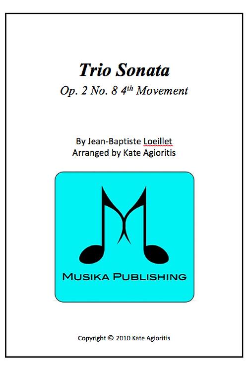 Trio Sonata - Clarinet Choir