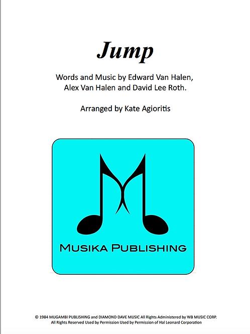Jump (Van Halen) - Saxophone Quartet