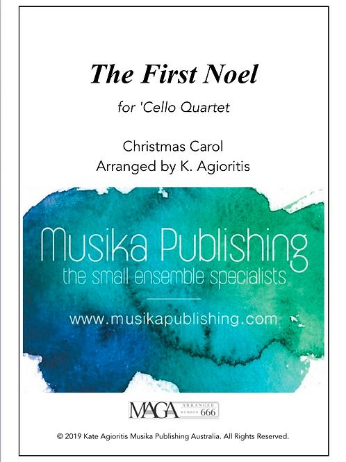 The First Noel - 'Cello Quartet