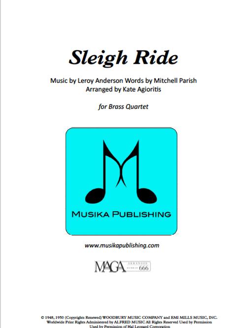 Sleigh Ride - Brass Quartet
