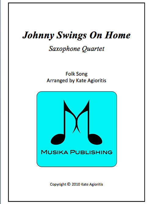 Johnny Swings On Home - Saxophone Quartet