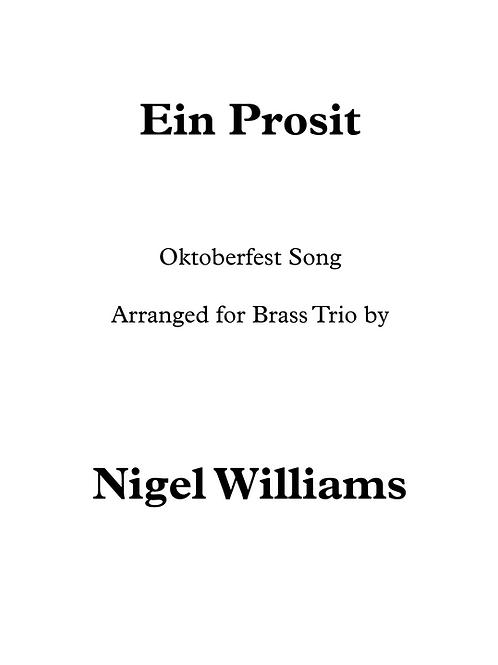 Ein Prosit - Brass Trio
