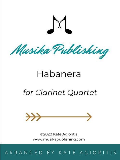 Habanera - Clarinet Quartet