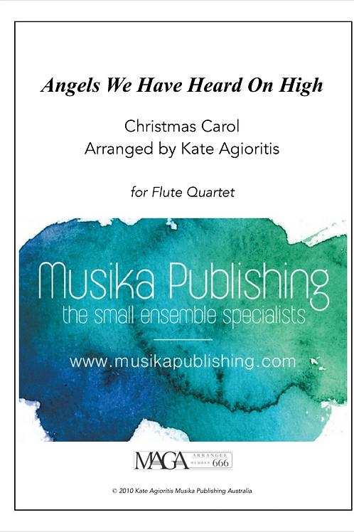 Angels We Have Heard on High - Flute Quartet