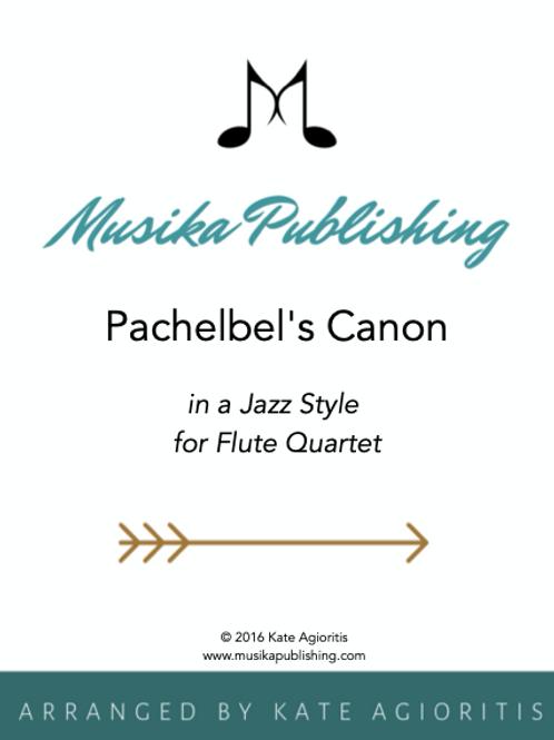 Pachelbel's Canon (Jazz) - Flute Quartet