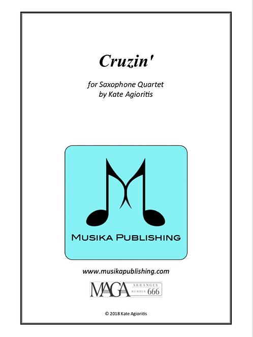 Cruzin' - for Saxophone Quartet