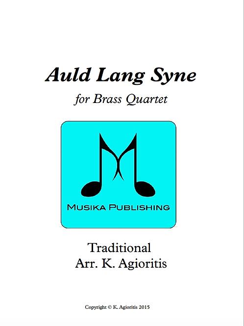 Auld Lang Syne - Brass Quartet