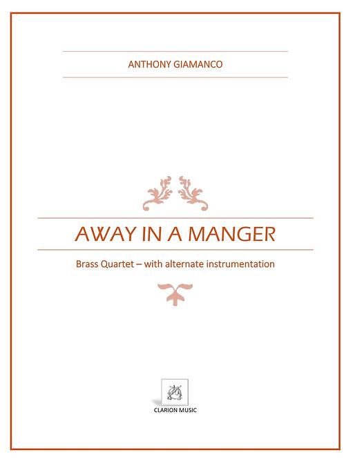 Away in a Manger - Brass Quartet