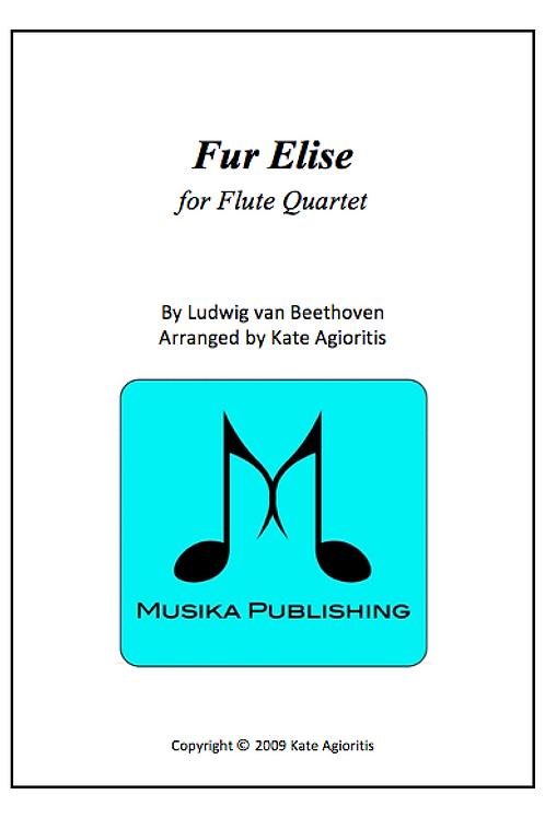Fur Elise (Jazz) - Flute Quartet