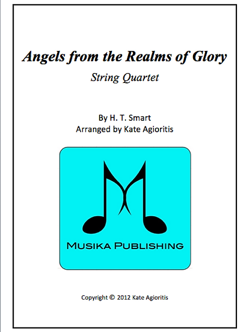 Angels from the Realms of Glory - String Quartet