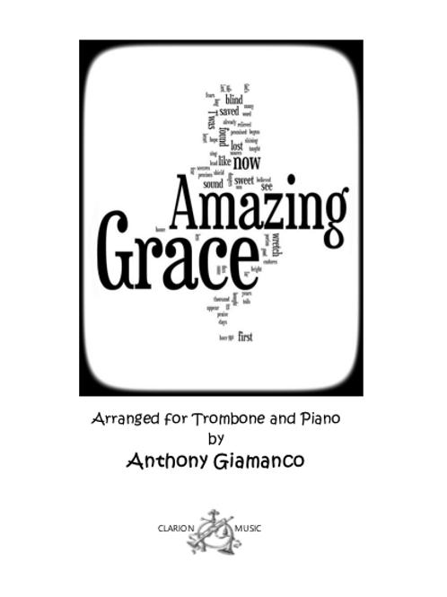 Amazing Grace - Trombone and Piano