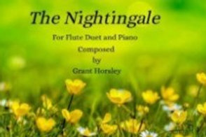 """""""The Nightingale"""" Flute Duet- Sheet Music and Accompaniment Track"""