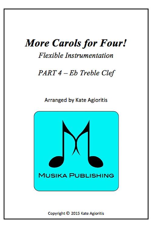 More Carols for Four Part 4 - Eb Treble Clef