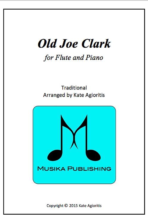 Old Joe Clark - Flute and Piano