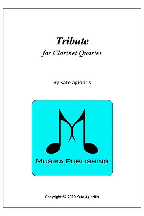 Tribute - Clarinet Quartet