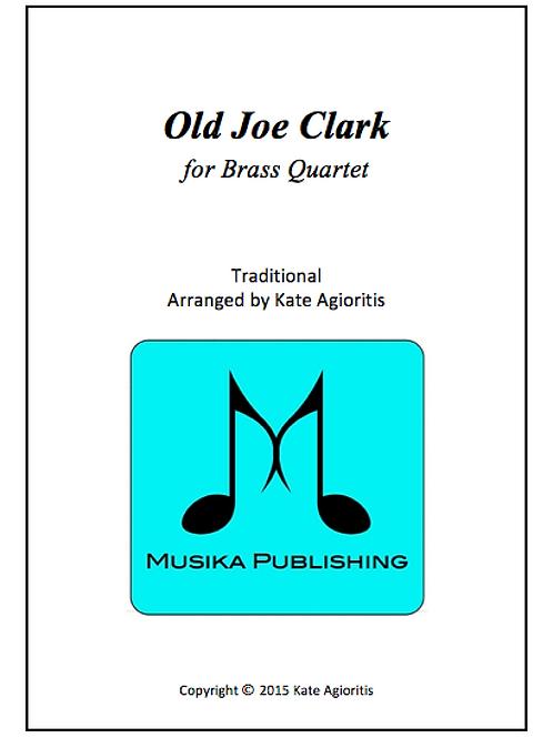 Old Joe Clark - Brass Quartet