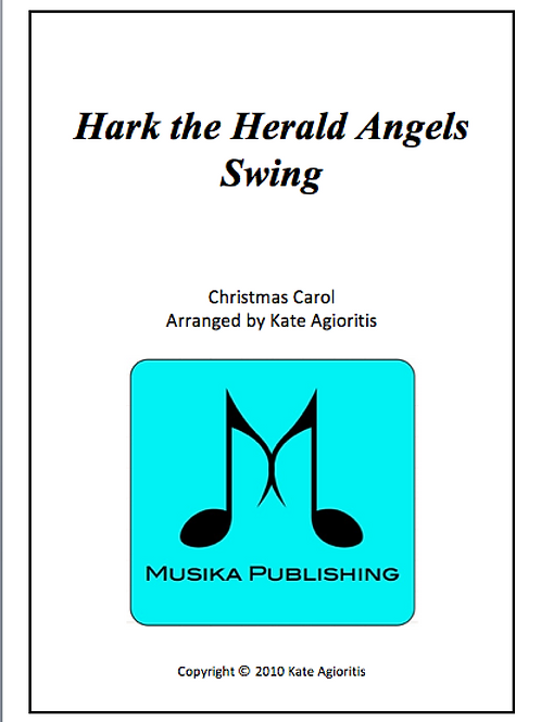 Hark the Herald Angels Swing - Clarinet Quartet