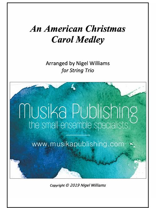 An American Christmas Carol Medley - String Trio