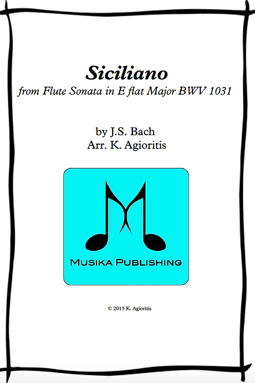 Siciliano - String Quartet