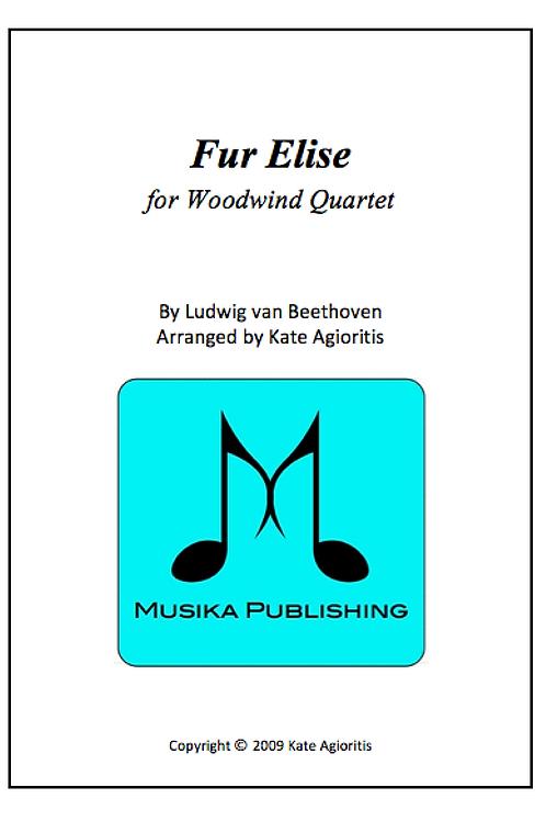 Fur Elise (Jazz) - Woodwind Quartet