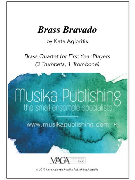 Brass Bravado - Brass Quartet for Beginning Players