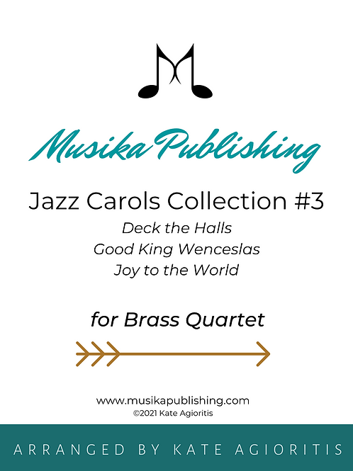 Jazz Carols Collection Set 3 - Brass Quartet
