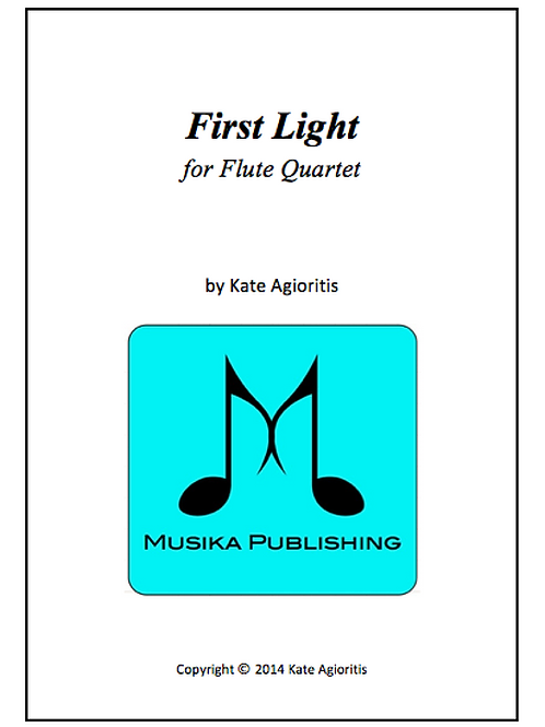 First Light - Flute Quartet