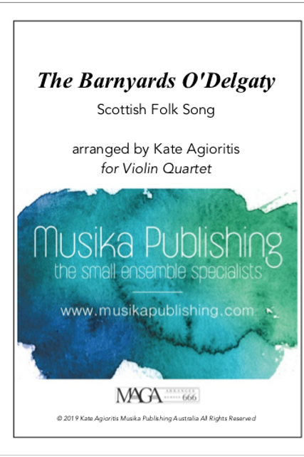 The Barnyards O'Delgaty - Violin Quartet