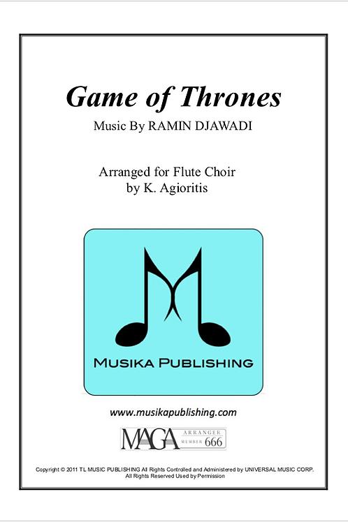 Game of Thrones - Flute Choir