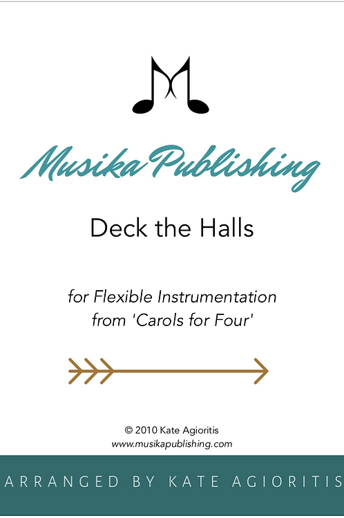 Deck the Halls - Flexible Instrumentation