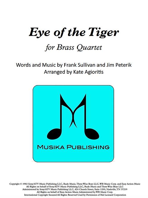 Eye of the Tiger (Survivor) - Brass Quartet