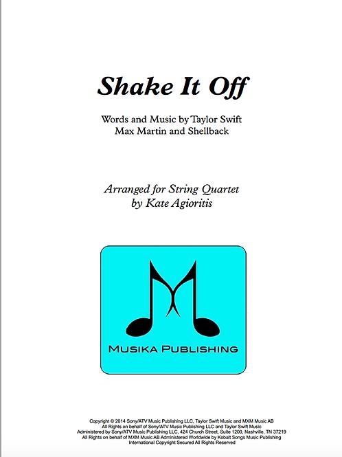 Shake it Off (Taylor Swift) - String Quartet
